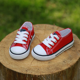 Casual shoes jeans online shopping - 2017 Canvas Children Shoes Sport Breathable Boys Sneakers Brand Kids Shoes for Girls Jeans Denim Casual Child Flat Canvas Shoes SH190916