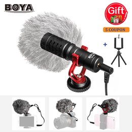 $enCountryForm.capitalKeyWord Australia - BOYA BY-MM1 Mini microphone Video Mic for Samsung Huawei&Smartphone Tablet PC for iPhone 6 Canon Sony DSLR Camera Camcorder