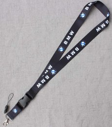 Cellphone Keys Australia - Thermal transfer Auto Car Logo Neck Strap Lanyard for Keyring Key Chains Cellphone Card