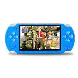 $enCountryForm.capitalKeyWord Australia - 4.3 Inch 8GB System Handheld Game Console Games Portable Video Games Player Built-in 10000 Classic Video Games for Child's birthday present