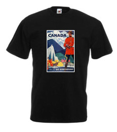 $enCountryForm.capitalKeyWord Australia - VINTAGE TRAVEL Canada T-shirt-Retro Prints -Home-Holiday