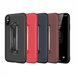$enCountryForm.capitalKeyWord UK - Carbon Fiber Soft TPU Case For iPhone XR XS MAX X 8 7 6 Plus Galaxy S10 S10e S9 S8 Note 9 8 Gripper Storing Grip Finger Holder Luxury Cover