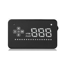 $enCountryForm.capitalKeyWord Australia - Newest hot sell 3.5 Inch A2 GPS HUD Windshield Display Electronic Speedometer Car Heads Up Display Car Head Up Display