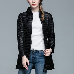 $enCountryForm.capitalKeyWord Australia - Woman Stand Collar Slim Short Ultra Light Down Jackets Winter Long Down Jacket Winter Jackets Slim Long Sleeve Overcoat
