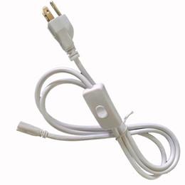 Netzkabel mit Schalter 1FT 2FT 2FT 3FT 4ft 5ft Verlängerungskabel T5 T8 Stecker Kabelkabelkabel für integrierte LED-Leuchtstoffröhre im Angebot