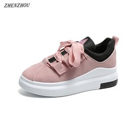 $enCountryForm.capitalKeyWord NZ - Designer Dress Shoes Free shipping Pumps woman's new style fashion spring and autumn lace-up Round head Casual women