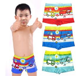 $enCountryForm.capitalKeyWord NZ - Boy Swim Trunk Ages 3 To 10 Children Cartoon Car Swimsuit Summer Swimwear Kids Swimming Shorts Printed Toddler Boy Swimsuits