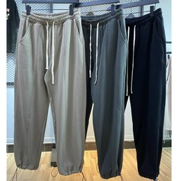 Wholesale grey sweatpants for sale – dress Hip Hop Dark Grey Baggy Trousers Loose Fit Sweatpants Jogger PANTS Autumn Men Streetwear