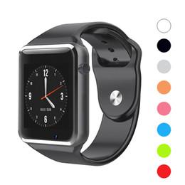$enCountryForm.capitalKeyWord Australia - A1 Sport Smartwatch Bluetooth Smart Watch Men Women Kids Smart Wrist Watches For iOS iPhone Huawei Samsung Android