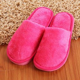 man warmer shoes for winter 2019 - New Winter Home Slippers Men Indoor Bedroom Loves Couple Shoes Shoes Soft Warm Slippers For Home cheap man warmer shoes