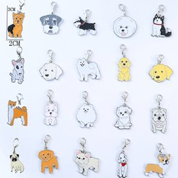 $enCountryForm.capitalKeyWord Australia - 5pcs lot 2019 New Fashion Dog Keychain Animal Couple Lovely Keychain Car Keyring Gift For Girl Women And Men Jewelry Bag CharmSH190724