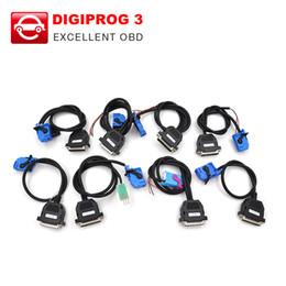 Digiprog Connectors Australia - Digiprog III Full Set Cables for Digiprog3 Digiprog 3 Odometer Programmer DHL free