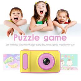 $enCountryForm.capitalKeyWord Australia - Child Camera Cute Anti-shake Toy Travel HD Screen Photograph Cartoon Camcorder Gifts Battery Powered Mini Digital 2 Inch