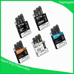 Vente en gros 100% Original VGOD STIG Pack Pod Pod 3Pcs 270mAh Batterie 1.2ml Cartouche Vape Stylo Kit Vs Vape Kit Novo Kit