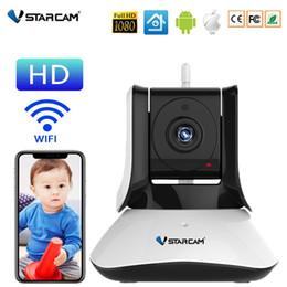 Audio Surveillance Infrared Australia - Vstarcam C21 C21S HD 720P 1080P WiFi Video Surveillance Security Wireless IP Camera with Two Way Audio IR Night Vision Pan