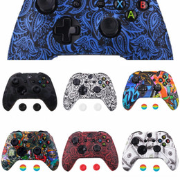 novel cases NZ - v5vMR Neon Novel Patterned Faceplate Front Housing Shell Case Replacement One for Xbox Part X & 1708 S Controller (Model One)