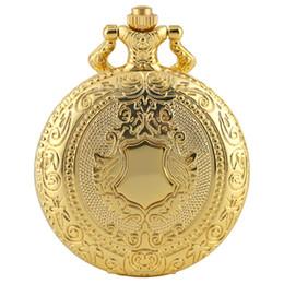 $enCountryForm.capitalKeyWord NZ - Vintage Silver Golden Bell Design Round Case Men Women Unisex Quartz Analog Pocket Watch Necklace Chain