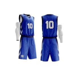 5e3f1df584c1 Men Basketball Jerseys Sets Tops and Shorts Cheap Quick drying Basketball  Jerseys Clothes Suit Sports Boys Basketball jersey