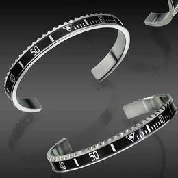 $enCountryForm.capitalKeyWord Australia - Luxury Fashion Watches Style Cuff Bracelet High Quality Stainless Steel Mens Jewelry Fashion Party Bracelets for Women Men with Retail box