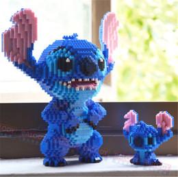 $enCountryForm.capitalKeyWord Australia - 8 Models Balody Mini Blocks Big Size Cute Mario Stitch Sence Model Bricks Luigi Assembly Brinquedos Kids Gifts Toys For Children Y190606