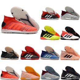 2019 nuevos zapatos de fútbol de calidad superior Predator 19 TF botines de fútbol para hombre botas de fútbol de interior Predator tango 19 botas de futbol Archetic en venta