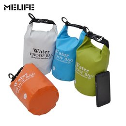 2246ce5963cb MELIFE Waterproof Kayaking Canoeing Swimming Bag Sports Ocean Pack Outdoor  PVC Rafting Storage Dry Bags With Strap 2L 5L  212274