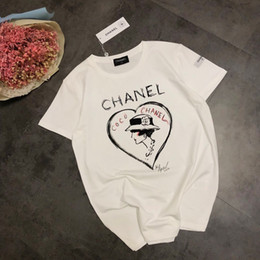 Wholesale Women s short sleeved small fragrance home spring and summer Italian counter limited edition Audrey Hepburn T shirt new
