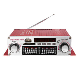 Stereo Recorder Australia - Kentiger Hy-602 Mini Portable Hifi Stereo Power Digital With Fm Ir Control Fm Mp3 Usb Playback With Four Dsp