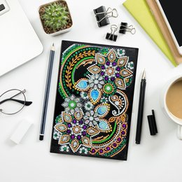 $enCountryForm.capitalKeyWord Australia - Zooya Diy 5d Special Diamond Painting Notebook Diamond Embroidery Notebook Diamond Mosaic A5 Diary Book Picture Gift NB31
