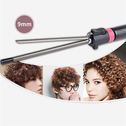 professional hair straightening irons Australia - Professional Straightening Irons Curling Iron Curler Nano Titanium 360 Degree Rotating Clip Curler Hair Waver Styling Tools