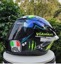 Carbon Fiber Half Helmets Australia - Motorcycle helmet four seasons personality cool motorcycle with rear wing racing winter helmet