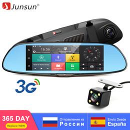 "$enCountryForm.capitalKeyWord Australia - Junsun 3G 7"" Car DVR Mirror Camera Android 5.0 wifi GPS Full HD 1080P Video Recorder Dual Lens Registrar Rear view dvrs Dash cam"