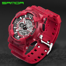 $enCountryForm.capitalKeyWord Australia - Mens Watches Top Brand Luxury Sanda Digital-watch G Style Military Sport Shock Watches Men Led Quartz Digital Watch Reloj Hombre MX190717