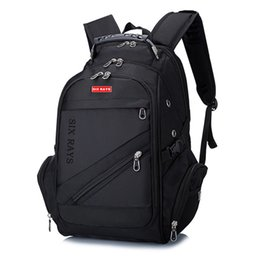 "swiss backpacks laptop NZ - Brand Swiss Laptop 15""Backpack External Swiss Computer Backpacks Anti-theft Backpack Waterproof Bags for Men Women backpack T191021"