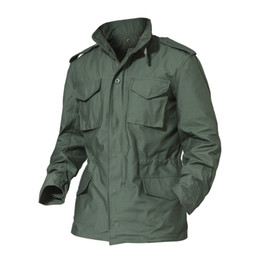China Jacket Men Army M65 Tactical Jackets Multicam Autumn Winter Windbreaker Durable Outwear Trench Coat AG-FED-12 supplier jacket m65 suppliers