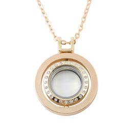 $enCountryForm.capitalKeyWord Canada - Europe Long Syle Alloy DIY Round Hollow Can Open Chain Locket Pendant Necklace for Women Gifts Jewelry Wedding