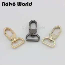 handbag mix color Australia - Wholesale 500pcs, 4 colors accept mix color, 47.6*19.7mm 3 4 inch metal trigger snap hook handbag adjusted swivel clasp hook