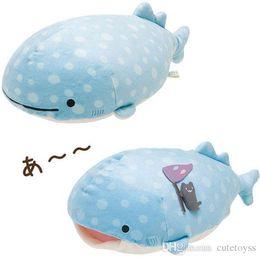 "$enCountryForm.capitalKeyWord NZ - Hot New 2 Styles 9"" 23CM San-X Jinbei San Whale Shark Plush Doll Anime Collectible Stuffed Dolls Pillows Best Gifts Soft Toys"