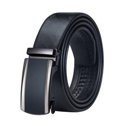 Wholesale hi standards online – design Hi Tie Best Hot Selling leather Men fashion Belt Alloy Automatic Buckle Casual High Quality Men Belt DK
