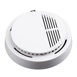 smoke detector tester NZ - Stable Photoelectric Wireless Smoke Detector High Sensitive Fire Alarm Sensor Monitor Tester For Home Security System Cordless