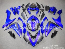 R1 Tank Australia - ACE KITS Motorcycle fairing For YAMAHA YZF R1 2007-2008 Injection or Compression Bodywork wondrous gray blue +TANK NO.2117