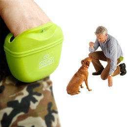 $enCountryForm.capitalKeyWord Australia - Outdoor Pet Training Pockets High-Quality Silicone Pet Snack Packs Dog Storage Pockets Supplies