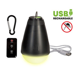 $enCountryForm.capitalKeyWord Australia - Portable Camping Tent Lights with Remote Control USB Rechargeable Ultra Bright LED Lamp with Mosquito Repellent Yellow Light Waterproof