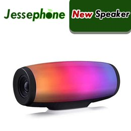 pulse speakers Canada - Z11 bluetooth speaker 7 colors pulse flash music mp3 player super bass handfree waterproof subwoofer SD card player with mic 1200mah power