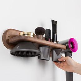 $enCountryForm.capitalKeyWord Australia - Freeshipping Hair Dryer Holder Hair Blow Dryer Holder Rack Bathroom Racks Wall Mount Hair Dryer Storage Shelf