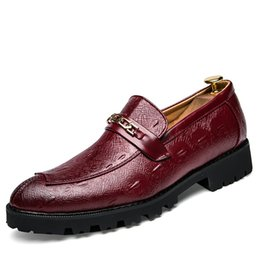 $enCountryForm.capitalKeyWord Australia - Hot Sale Mens Solid Dress Shoe Classic Soft Genuine Cow Leather Shoes for Male Stylish Casual Business Formal Shoe SH908260