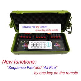 Опт Biluscon 12 Cue Wireless Fireworks розжига оборудования системы + пульт дистанционного управления управления огнем оборудование + программируемый пульт + партия Свадебная система