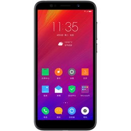 "Lenovo Quad Core Dual Camera Australia - Original Lenovo A5 4000mAh Big Battery 3GB RAM 16GB MobilePhone MTK6739 Quad Core 5.45"" Smart Phone Fingerprint 4G-LTE Global"