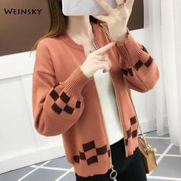 $enCountryForm.capitalKeyWord Australia - Women Fashion Knitted Baseball Jackets Coat Women Jacket Youth Bomber Jackets Streetwear Baseball Uniform