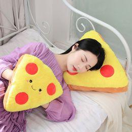 $enCountryForm.capitalKeyWord Australia - Stuffed Plush Toy Cartoon Hand Warm Pillow Soft Food Pizza Bread Doll Toy For Children Christmas Gifts, 30CM  45CM